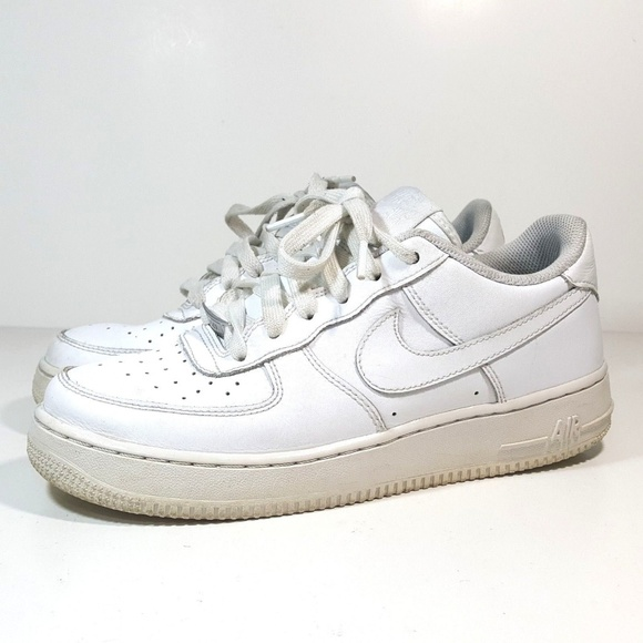 c95a53f9319 Nike AIR FORCE 1 Low White 314192-117 6.5 Youth Sh.  M 5b758af8c2e9fee78d8354bb